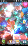 Glitter Rhinestone Live Wallpaper screenshot 1/3