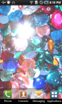 Glitter Rhinestone Live Wallpaper screenshot 2/3