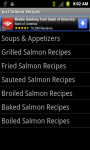 Just Salmon Recipes screenshot 2/3