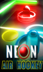 Neon Air Hockey – Free screenshot 1/6