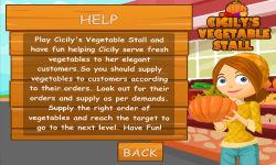 Cicilys Vegetable Stall screenshot 2/6