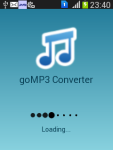 goMP3 Converter screenshot 1/3