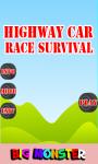 Highway Car Race Survival screenshot 1/3