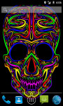 Colorful Skull LWP screenshot 1/3