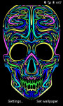 Colorful Skull LWP screenshot 2/3