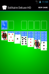 Solitaire HD Deluxe screenshot 1/2