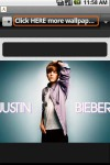 Cool Justin Bieber Wallpapers screenshot 2/2