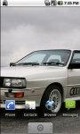 Audi Quatro HD Live Wallpapers screenshot 2/3
