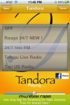 Tandora Telugu Radio - Bollywood Desi Music Song's Pandora box of Indian Music screenshot 1/1