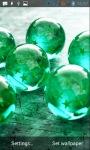 Glass balls LWP screenshot 3/3