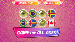 Educational Memory Game–Flags screenshot 1/5
