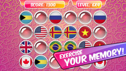 Educational Memory Game–Flags screenshot 2/5