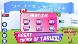 Educational Memory Game–Flags screenshot 4/5