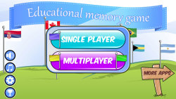 Educational Memory Game–Flags screenshot 5/5