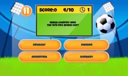 Soccer Quiz Fun screenshot 3/6