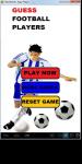 NEW Football Players Quiz  screenshot 2/6
