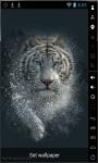 White Bengal Tiger Live Wallpaper screenshot 1/3