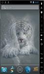 White Bengal Tiger Live Wallpaper screenshot 3/3