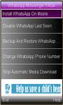 Whatsapp Messenger Features screenshot 1/1