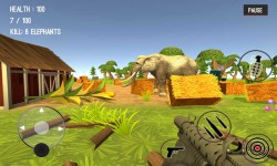 Wild Zoo Animals Hunting City screenshot 3/6