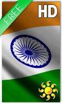 India Flag LWP screenshot 1/2