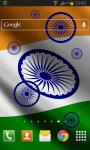 India Flag LWP screenshot 2/2