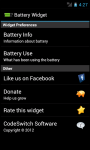 Battery Widget for Android screenshot 3/4