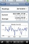 Meter Readings screenshot 1/1