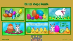 Easter Shape Puzzle screenshot 1/3