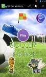 Soccer Memory Game screenshot 1/2