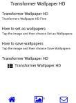 Transformers Wallpaper HD screenshot 2/3