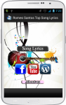 Romeo Santos Song Lyrics screenshot 1/4