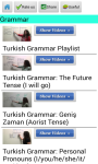 Learn Turkish via Videos screenshot 2/3