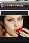 Sexy Angelina Jolie Wallpapers screenshot 2/2