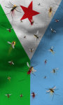 Djibouti flag lwp Free screenshot 2/5