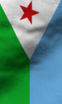 Djibouti flag lwp Free screenshot 3/5