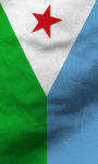 Djibouti flag lwp Free screenshot 4/5
