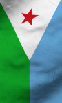 Djibouti flag lwp Free screenshot 5/5