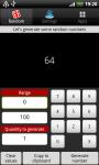 Random Numbers - Generator screenshot 2/3