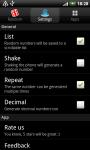 Random Numbers - Generator screenshot 3/3