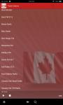 Canadian Radio screenshot 1/3