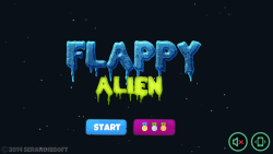 Flappy Alien screenshot 1/6