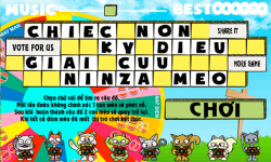 Cat Rescue  Word Scrabble Game to Improve English screenshot 1/6