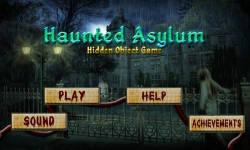 Free Hidden Object Games - Haunted Asylum screenshot 1/4