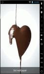 Chocolate Heart Live Wallpaper screenshot 2/2