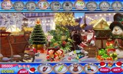 Free Hidden Object Game - City Christmas screenshot 3/4