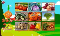 Puzzles for kids vegetables screenshot 2/6