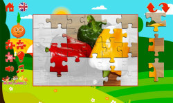 Puzzles for kids vegetables screenshot 5/6