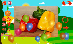 Puzzles for kids vegetables screenshot 6/6