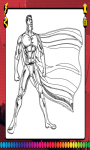 Superhero Coloring Book screenshot 1/2